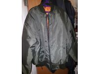Green Pilot Jacket Size XL