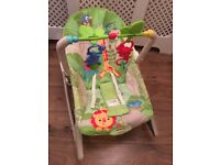 Fisherprice bouncer to toddler chair