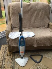 Vax Hard Floor Steam Cleaner with Carpet Adapter
