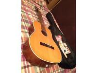 Musima guitar + new strings, bag & manuals