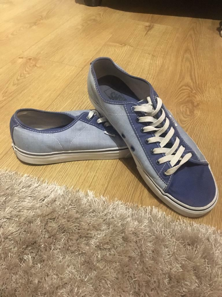 Men's size 11 vans trainers
