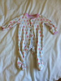 3-6 month Jojo and Cath Kidston babygrows