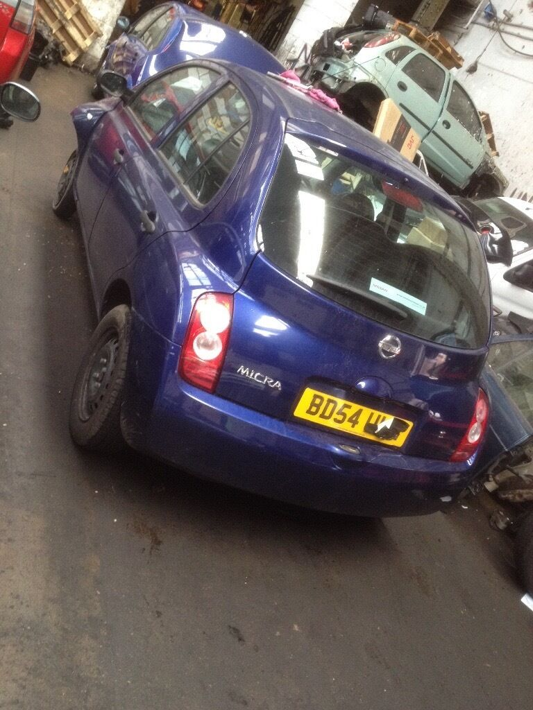 Nissan micra k12 breaking for spare parts 1.2 petrol