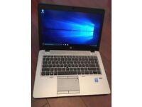 RRP £1199 HP EliteBook 840 G2 i7 14 Inches, 8GB RAM 256GB SSD Windows 10, Warranty