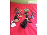Playstation 3 with 13 games and 3 controller incl Disney infinity and characters