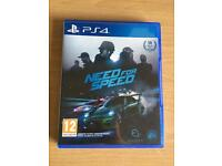 Need for speed 2015 (newest need for speed) PS4