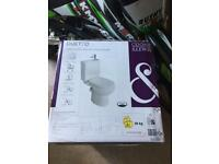 Toilet n sink all in one for small space brand new ££80