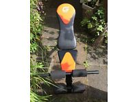 Almost new Gallant bench for incline/flat/decline free weight excercises