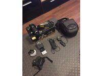Nikon D3100 DSLR, 18-55mm Lens, 2 x Batteries, Remote, 4GB SDHC Sandisc, Camera Package...more