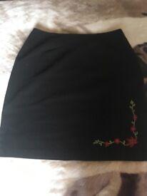 Cute woman's skirt
