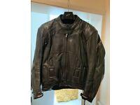 RST Slice Men's Leather Motorcycle Jacket