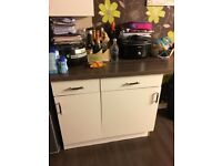 Kitchen unit and worktops for sale