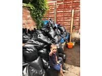 Bags of soil FREE