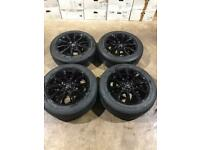 "Set of 20"" genuine Range Rover alloy wheels and tyres"