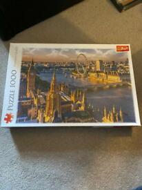 London 1000 piece jigsaw.