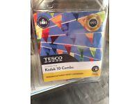 Tesco K10 Printer Ink Cartridge Combo for Kodak Printer