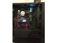 "*High spec* Gaming PC, Beautifully built, 6600k, Kraken x52, 1060 TURBO & 120hz Benq 24"" Monitor"