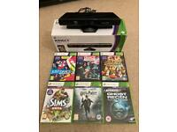 Xbox 360 kinect sensor only and games