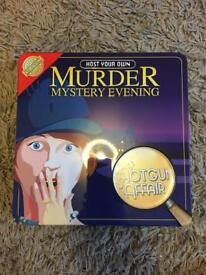 Murder Mystery Evening Games