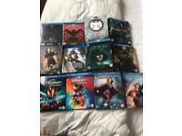 Job Lot of Marvel and DC Blu-ray Boxsets
