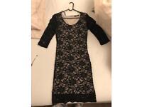 Women's dress. Black lacey