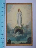 Vecchio Santino Holy Card Immacolata Concezione Preghiera -  - ebay.it