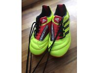 Adidas Children's football boots size UK 1