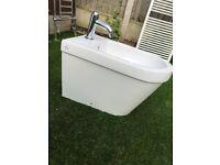 New Bathstore bidet white