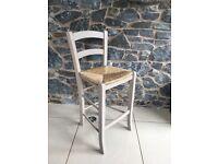 John Lewis Tavern Bar Chairs (2) - Light Grey