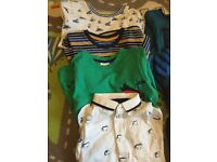 Various boys items ages 18-24 & 0/3