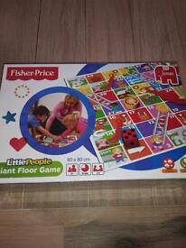 NEW!!! FISHER PRICE GIANT SLIDES AND LADDERS GAME