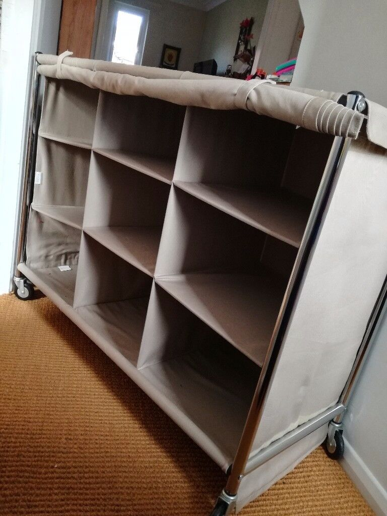 Habitat canvas storage unit