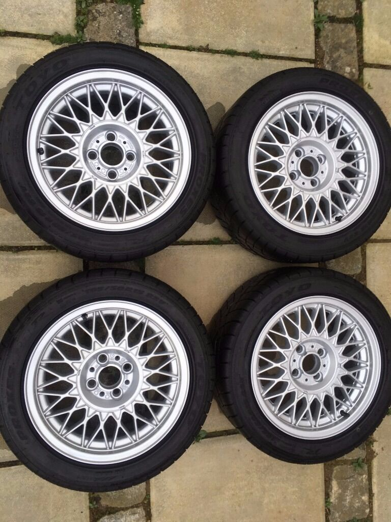Bbs Rz 15 Quot Alloy Wheels With Toyo R1r Tyres Bmw E30 Vw