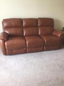 Recliner sofa and chair all electric