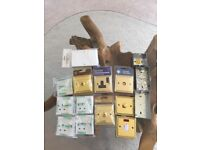 Electrical sockets and switches