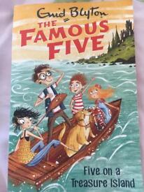 The famous five ,Five on a treasure island