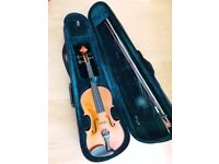 Violin full size hardly used