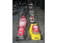 Rotary Mowers for spares or repair Lot 1 £60