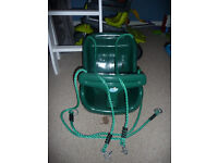 Plum Baby Swing Seat in green