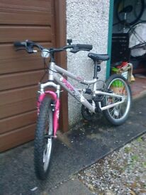 Child's Bicycle with suspension etc