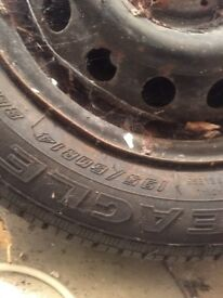 195.60.14. Very good tread. qty 3, one EAGLE NCT. Garage find.