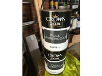 Crown undercoat
