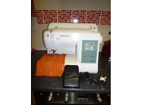 price reduced ex cond singer brilliance 6199 sewing machine with accessories
