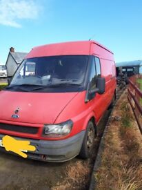 Ford transit 2005 for breaking