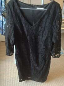 Planet black lace dress - Size 14 - Reduced Price