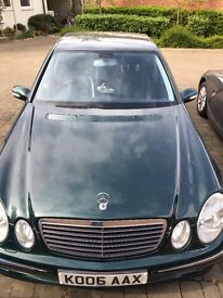 Mercedes E280, semi-Auto, built to last, brilliant condition, diesel, full leather, 184 B.H.P.
