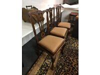Mahogany Dinning Chairs