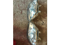 honda civic facelift headlights (near mint), ek4 vti ej9 99-00