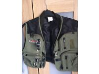 fishing tackle vest