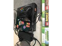 Xbox 360 500gb with games and portals